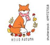 vector illustration character... | Shutterstock .eps vector #699727318