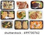 different types of takeaway... | Shutterstock . vector #699730762