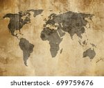 old map | Shutterstock . vector #699759676
