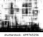 grunge halftone black and white.... | Shutterstock . vector #699765256