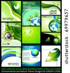 Go Green Eco Backgrounds...