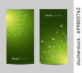 set of vertical banners.... | Shutterstock .eps vector #699805762