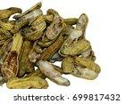Peanuts. Two Unpeeled Nuts...