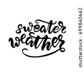 "vector lettering ""sweater... 