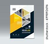 cover design  corporate... | Shutterstock .eps vector #699892696