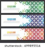 creative banner vector design | Shutterstock .eps vector #699895516
