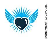 heart vector graphic...   Shutterstock .eps vector #699899986