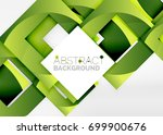 squares geometric object in... | Shutterstock .eps vector #699900676