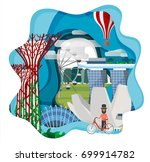 travel infographic  discovering ...   Shutterstock .eps vector #699914782