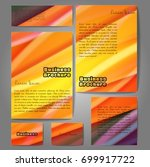 abstract colorful disco... | Shutterstock .eps vector #699917722