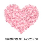 vector illustration of a heart...