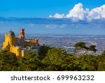 pena palace in sintra  ... | Shutterstock . vector #699963232