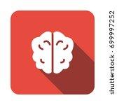 brain icon   Shutterstock .eps vector #699997252
