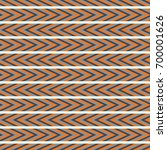 vector seamless ethnic pattern. ... | Shutterstock .eps vector #700001626