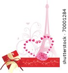 holiday composition for... | Shutterstock .eps vector #70001284