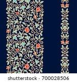 ornamental floral vector border ... | Shutterstock .eps vector #700028506