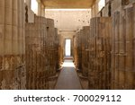 ruins of the funerary complex...   Shutterstock . vector #700029112