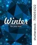 new year background with space... | Shutterstock .eps vector #700051522