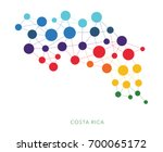 dotted texture costa rica... | Shutterstock .eps vector #700065172