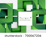squares geometric object in... | Shutterstock .eps vector #700067206
