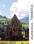 prasat wat phu world heritage... | Shutterstock . vector #700085512
