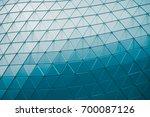 detail of structural metal... | Shutterstock . vector #700087126