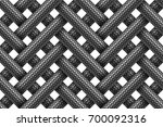 seamless decorative pattern of... | Shutterstock . vector #700092316
