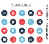 set of 20 editable journey...