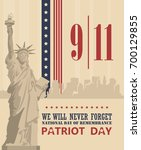 Patriot Day Vector Poster....