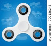 spinner infographic template...