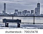 Boston Skyline In The Winter....