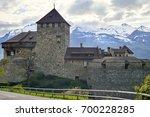vaduz  liechtenstein   april 28 ... | Shutterstock . vector #700228285