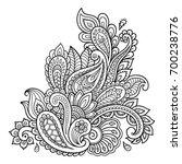 henna tattoo flower template....