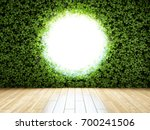 large round window in the wall... | Shutterstock . vector #700241506