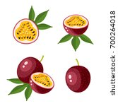 superfood fruit. set of... | Shutterstock .eps vector #700264018
