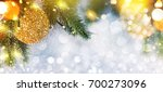 christmas and new year s... | Shutterstock . vector #700273096