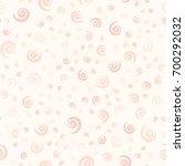 rose spiral pattern. seamless...   Shutterstock .eps vector #700292032