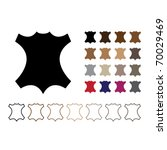 mark leather   silhouette... | Shutterstock .eps vector #70029469
