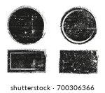 vector grunge stamps.grunge... | Shutterstock .eps vector #700306366
