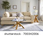 contemporary living room with... | Shutterstock . vector #700342006