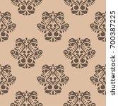wallpaper seamless pattern....   Shutterstock .eps vector #700387225