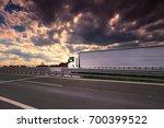 truck on the road | Shutterstock . vector #700399522