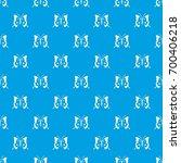 butterfly pattern repeat...   Shutterstock .eps vector #700406218