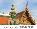 wat phra kaew temple of the... | Shutterstock . vector #700442752