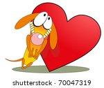 Vector Illustration. Valentine...