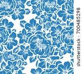 abstract elegance seamless... | Shutterstock . vector #700485298