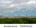 beautiful and large sky with...   Shutterstock . vector #700504162