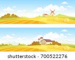 vector illustration of autumn... | Shutterstock .eps vector #700522276