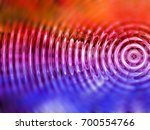 resonate  spread  vibration or... | Shutterstock . vector #700554766
