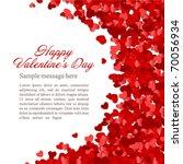 Red Hearts Confetti Valentine'...
